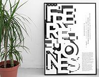 FRERE-JONES TYPOGRAPHIC POSTER