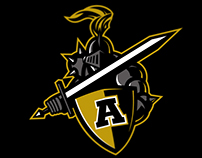 Army Black Knights logo concept