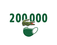 LACOSTE - 200 000 Masks