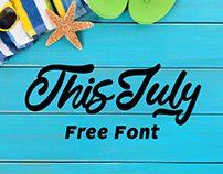 Freebie - This July Free Typeface