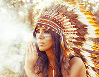 Elena The Red Indian Princess