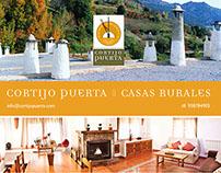 Carteles para Cortijos Puerta - Alpujarra