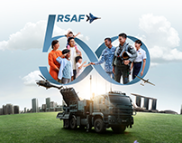 Republic of Singapore Airforce — RSAF50 Key Visual