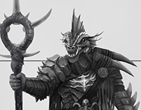 Characters pack for a tabletop RPG