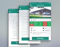 Event Mobile App PSD Design – Free Download