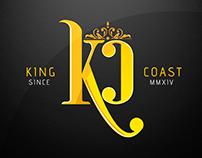 King Coast Brand - Logo/Estampas/Website