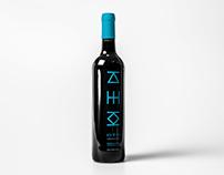Win wine label