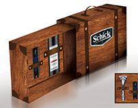 SCHICK Promo Pack Design Study