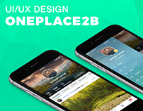Oneplace2B - UI/UX Design - Social Apps