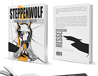 Book cover redesign. Steppenwolf