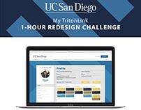 My TritonLink Landing Page (Daily UI Challenge)