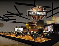 Stand Harley Davidson - Salão Duas Rodas 2017