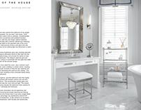 Belleza Moda Interiors Magazine Spread