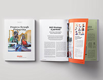 DNDi, rapport annuel print et digital