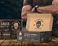 Hot Sauces brigade, Gift packaging design