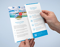 Brochure – Travel Agency Tri-Fold Template