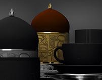 Egyptian Art Tea Caddy