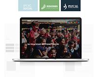 IPLYC Social - Website Design / UX UI /