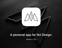 A personal app for Meng Jian.