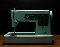 Singer • Sewing machine • 1