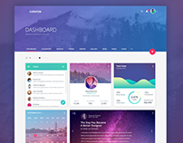 Dashboard Design for StackThemes