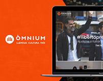 Òmnium Cultural / Web Desgin