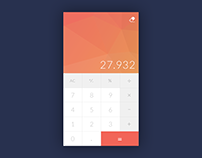 Daily UI / #004 Calculator