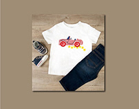 kids t-shirt & techpack