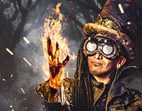 El mago del bosque