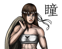 Dead or Alive Muscular Hitomi Digital Panting
