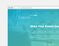 UI & UX / Canvas Website