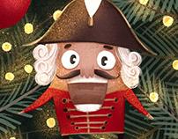 """Christmas card """"The Nutcracker"""""""