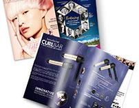 CurlBar Ad. Salon Magazine, Canada. April 2017