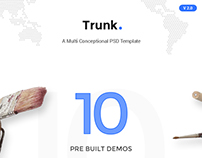 Trunk - Multipurpose PSD Template