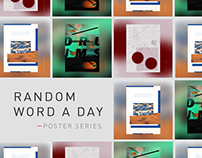 Random Word a Day | Poster Series