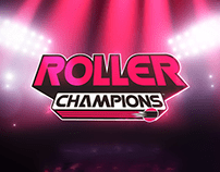 Roller Champion Logo Animation