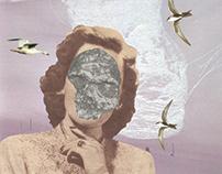"""""""Tundra"""", analogue collage"""