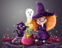 LITTLE WITCH!!!