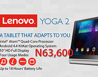 Lenovo Product Poster
