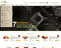 Grocery Web Design Template