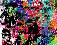 Classic Rock icons art
