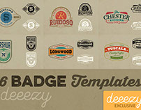 6 FREE Badge or Logo Templates