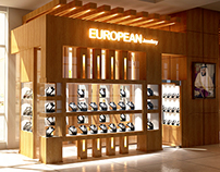 European Jewelery mini shop in Hilton JBR - UAE,Dubai