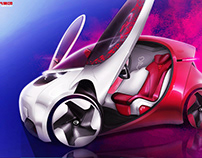 GAC 2U concept car