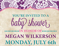Mixed Shower Invites 2015-2016