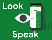 Google Look to Speak