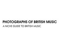 Photographs Of British Music