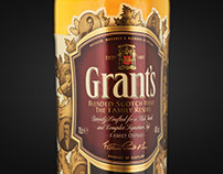 Grant's Whiskey – Promotional Packaging Design