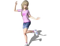 Dance 3D Animation