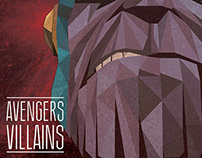 Marvel Low poly Art - Avengers - Thanos.